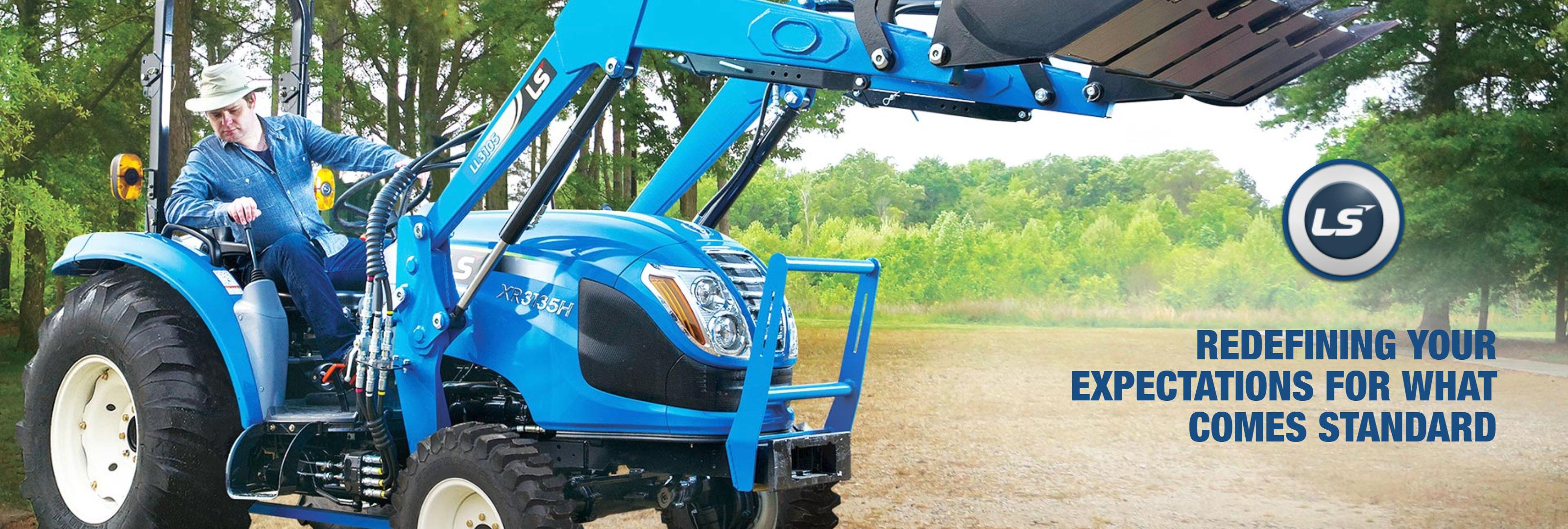 LS Tractors for Sale at Sherlock Equipment